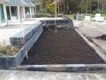 9. Verhoogde plantenborders van stapelblokken